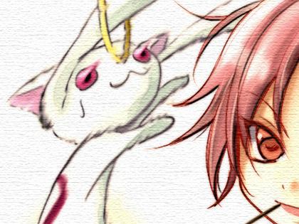 2011 年 7 月 24 日に刊行された『魔法少女まどか☆マギカ 佐倉杏子・美樹さやか・志筑仁美メイン本「 Witch & Blade with PALERIDER (Part I) 」 』に 1P 寄稿しました。